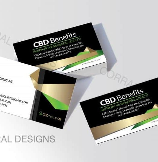 CBD Business Cards