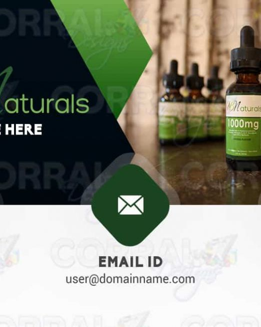 HBNaturals and CBD Business Cards