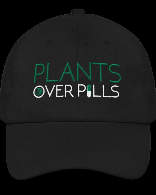 Plants Over Pills Hat