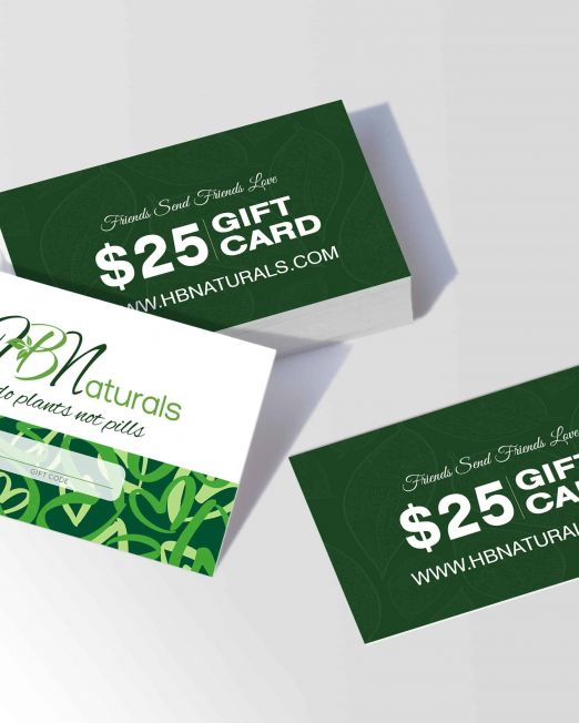 HBN Gift Card Code Cards