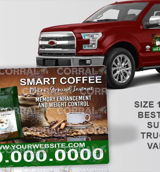 HBN Nova Smart Coffee Car Magnets