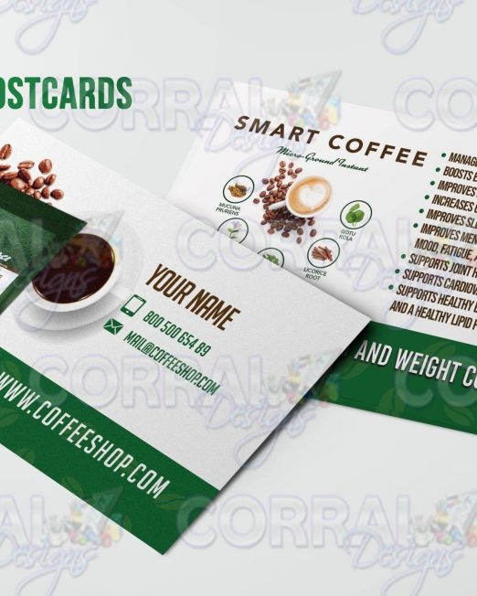 HBN Nova Smart Coffee Postcards