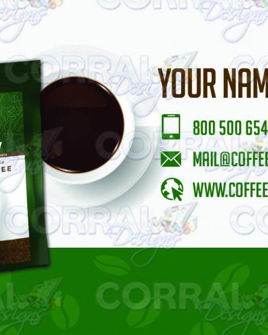 HBN Nova Coffee Business Cards